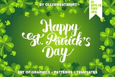 St. Patrick's Day Set Of Graphics by Ollysweatshirt on @creativemarket