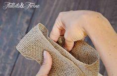 Tidbits&Twine How to Make a Bow Step 3