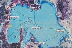 Salar de Uyuni map