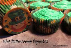 Mint Buttercream Cupcakes