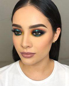 Makeup 101 Cute Makeup Glam Makeup Makeup Dupes Makeup Goals Makeup Trends Makeup Inspo Beauty Makeup Beauty Tips 101 Gorgeous Makeup, Love Makeup, Makeup Inspo, Makeup Inspiration, Awesome Makeup, Green Makeup, Gorgeous Gorgeous, Pretty Makeup, Glam Makeup