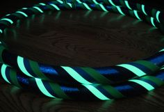 Glow in the dark Hula Hoop  (and all other kinds of custom hoops) - I want this!!!