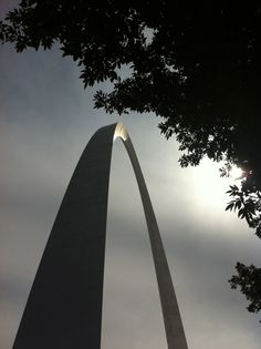 St. Louis Arch...engineered beautifully. Photo Kim Messer.
