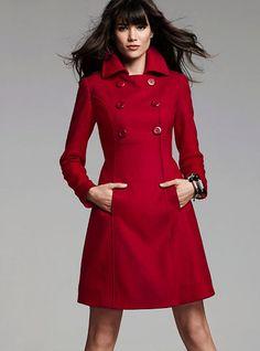 Red Coat For Ladies q4dE93