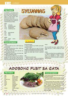 OCTOBER 2017 Filipino Desserts, October, Menu, Corner, Butter, Cookies, Cream, Cake, Menu Board Design