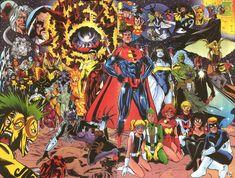 DC: One Million wallpapers, Comics, HQ DC: One Million pictures Superman One Million, Dc One Million, Dc Comics Superheroes, Dc Comics Characters, Marvel Comics, Storm Comic, Comic Art, Comic Books, Vigilante