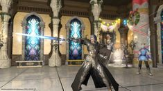 Final Fantasy Xiv, Avatar, Leather Pants, Dragon, Fashion, Leather Jogger Pants, Moda, Fashion Styles, Leather Joggers