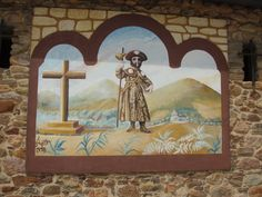 Santiago painting The Camino, Frame, Painting, Decor, Art, Camino De Santiago, Dekoration, Art Background, Decoration