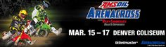 Ticket Giveaway!  AMSOIL Arenacross Championship in Denver! Enter to win up to 6 tickets!!
