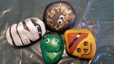Rock Hunting, Rock Painting Patterns, Autumn Painting, Painted Rocks, Halloween, Fall, Ideas, Fall Chalkboard, Autumn