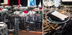 Black & Silver Jazz Sequin is a Gatsby-esque geometrically embroidered sheer sequin fabric great to add sparkle to your event. Sequin Fabric, Tents, Linens, Black Silver, Florals, Jazz, Celebrations, Sequins, Floor