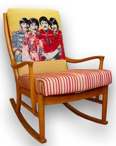 The Beatles rocking chair in Andrew Martin by JustinaDesign, £490.00