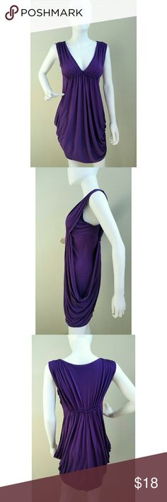 Purple Draped Dress Never worn. Dresses