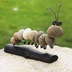 Декоративные камни в саду - Ярмарка Мастеров - ручная работа, handmade