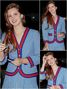 Lana Del Rey at the Gucci fragrance launch party in New York City #LDR