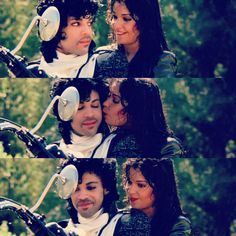 Prince and Apollonia in Purple Rain