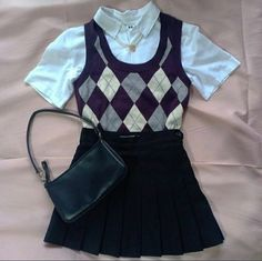 School Uniform Fashion, Old Money, Retro Outfits, Gossip Girl, Dress Codes, Autumn Winter Fashion, Dilly Dally, Hairstyles, Clothes