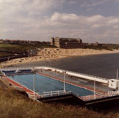 Tynemouth Open-Air pool -- would love to see this now derelict seaside attraction restored to its former glory. Outdoor Swimming Pool, Swimming Pools, Old Pictures, Old Photos, North Shields, Northern Exposure, North East England, North Sea, Grand Hotel