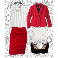 Plus size holiday glamour done right. Cheers!