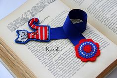 bookmark - felt