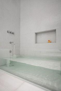 Vasche da bagno di design: immagini di modelli minimalisti