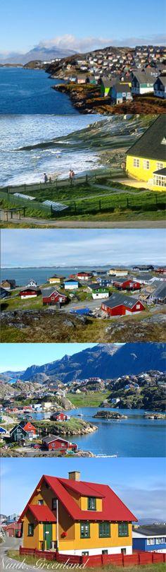#Nuuk - A beautiful tourist city in Greenland.