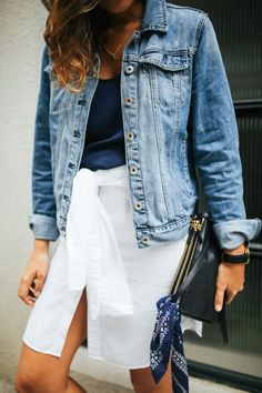4 very different ways to wear that white shirt in your closet - making it the hardest working item you could own.