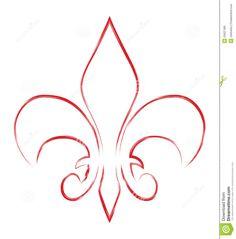 fleur-de-lis | Royalty Free Stock Photo: Fleur de lis