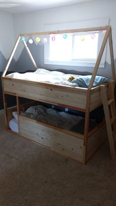 Ikea Hack! Ikea Kura bunk beds.