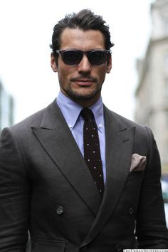 David Gandy - London Collections Men David James Gandy, Gabriel, Well Dressed, Sharp Dressed Man, Suit Fashion, Mens Fashion, Daily Fashion, Mens Suits, Dapper Suits