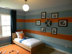 Nautical Room Boys Bedroom Paint Kids Bat