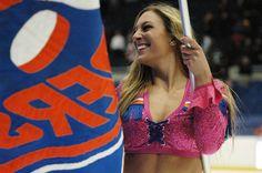 New York Islanders Ice Girl