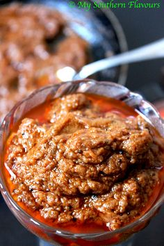 Brinjal / eggplant chutney, it is very simple recipes. This chutney / pickle can be stored in refrigerator for a week. Always store the pickle in sterilized bottel or air tight plastic container . …