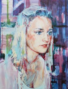 """Saatchi Art Artist: Liam Marc O'Connor; Painting: Oil,  """"Emily"""""""