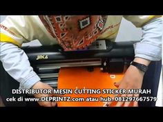 Demo Pemakaian Mesin Cutting Sticker JINKA 451 XL [DEPRINTZ.com]