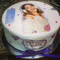 Disney Violetta cake for an 11th birthday.