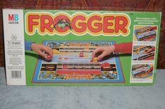 FROGGER MB Giochi 1981 OTTIMO Dal classico videogame Rane