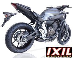 Yamaha MT-07 2014- IXIL SX1 Full Stainless Exhaust System