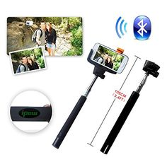 IPOW Extendable Self-portrait Wireless Bluetooth Remote Camera Shooting Shutter Monopod Selfie Handheld Stick Pole with Mount Holder specially designed for Iphone 5s 5c 5 4s 4 Samsung Galaxy Mobile Cell Phone,Black Check more at http://www.techflair.com/store/ipow-extendable-self-portrait-wireless-bluetooth-remote-camera-shooting-shutter-monopod-selfie-handheld-stick-pole-with-mount-holder-specially-designed-for-iphone-5s-5c-5-4s-4-samsung-galaxy-mobile-ce/