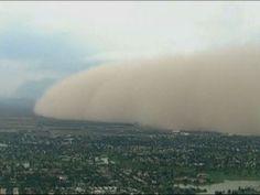 Raw: Massive Dust Storm Covers Phoenix