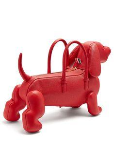 Unique Handbags, Unique Purses, Vintage Handbags, Purses And Handbags, Messenger Bag Patterns, Betsey Johnson Handbags, Animal Bag, Dog Bag, Grab Bags