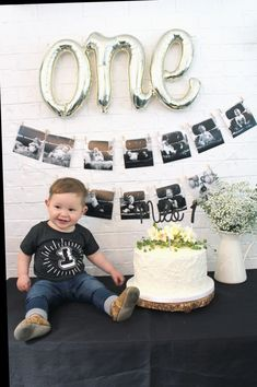 First birthday photography, first birthday themes, first birthday . - First birthday photography, first birthday themes, first birthday … - Boys First Birthday Party Ideas, 1st Birthday Pictures, Baby Boy First Birthday, Boy Birthday Parties, Cake Birthday, Themed Parties, 1st Birthday Boy Themes, Planes Birthday, 1 Year Birthday