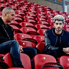 It always starts with the music. The music is great. So we went to an empty football stadium in Bradford and met a genuine young guy who found global superstardom and in leaving the worlds most popular group his own voice #ZaynOnBeats1 @zaynmalik by @zanelowe