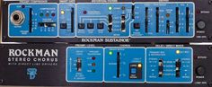 Instrumental Instruments: Scholz Rockman Guitar Effects Units: Rockman Sustainer and Rockman Stereo Chorus http://www.rocktheory.net/