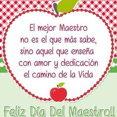 feliz dia del maestro - Real Tutorial and Ideas Teacher Quotes, Mom Quotes, Teacher Appreciation, Play Doo, Happy Mothers Day, Happy Day, Daughter Birthday Cards, Presents For Teachers, Free To Use Images