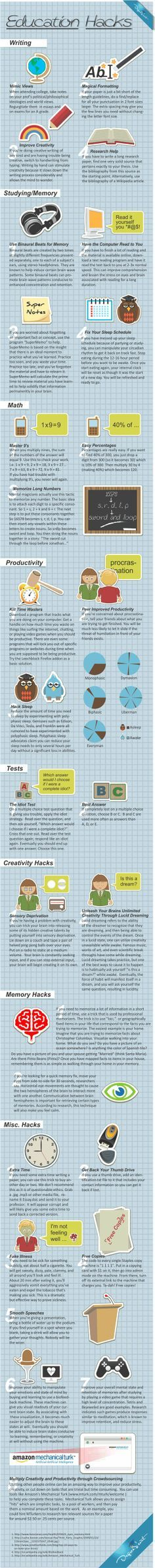 Education hacks to make your life easier - Win Picture | Webfail - Fail Pictures and Fail Videos