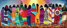 The Blanket Dancers Painting by Anderson R Moore Native American Paintings, Native American Art, American Women, American Indians, Canvas Art, Canvas Prints, Art Prints, Desert Art, Thing 1