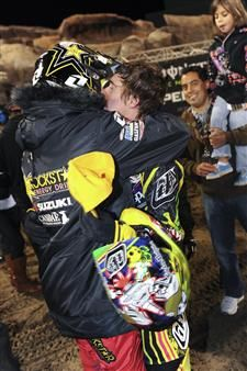 Little brothers first Pro SX Podium