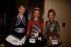 15-16 GIRLS. Kellie Dugan, Jessica Ryan and Amy Mae Dolan