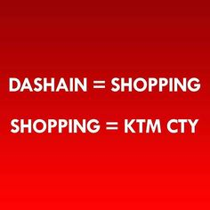 How true this is! :) #KTMCTY #Shopping #Kathmandu #Nepal